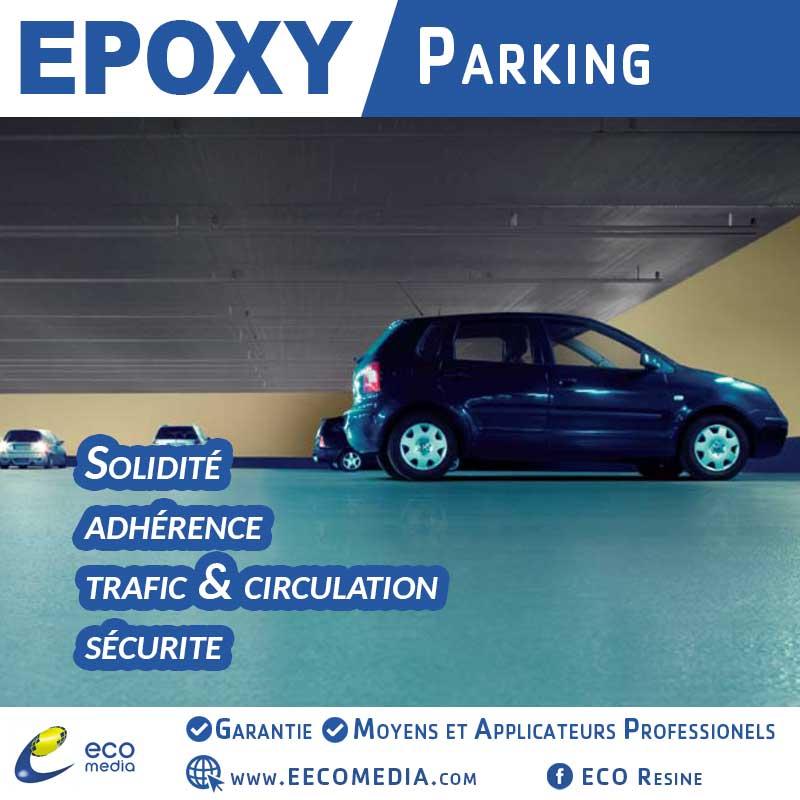 Revêtement parking