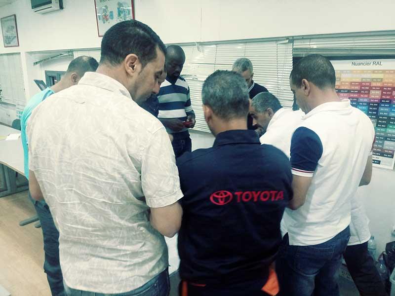 Toyota Ecomedia : Formation composites